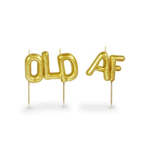 "Party Candles ""Old AF"""