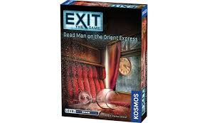 Exit Game Dead Man on the Orient Express