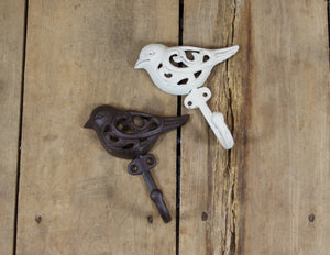 Cast Iron Ornate Bird Coat Hook