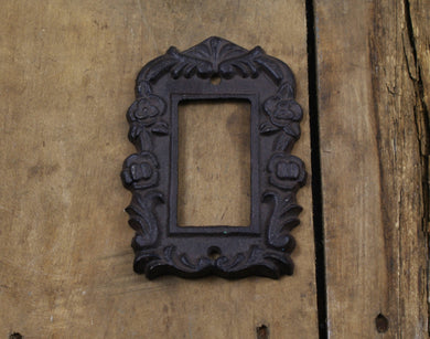 Cast Iron Rocker or Paddle Light Switch Plate Cover