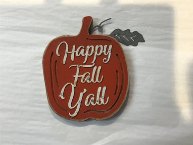 Ornament HAPPY FALL YALL