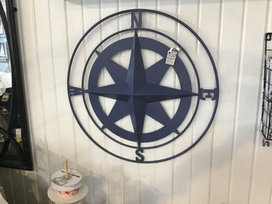 Wall Compass Deep Blue small