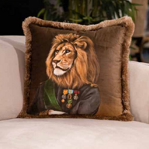 LION VELVET PILLOW