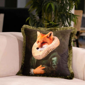 GRAND FOX VELVET PILLOW