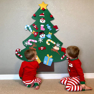 WALL HANGING CHRISTMAS TREE FOR KIDS