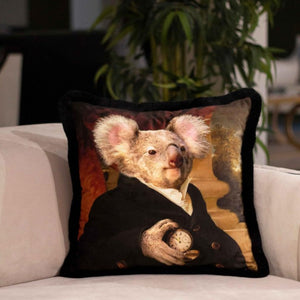 KONT KOALA FOX VELVET PILLOW