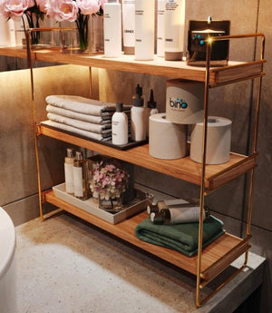 STYLISH WOODEN ORGANIZER SHELF