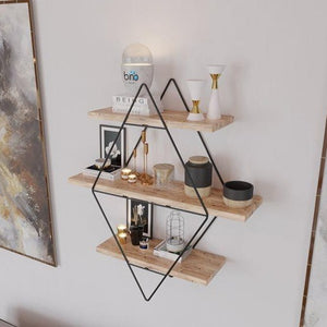 STYLISH COOL BLACK ORGANIZER SHELF