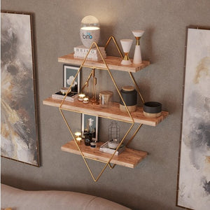 STYLISH COOL GOLD ORGANIZER SHELF