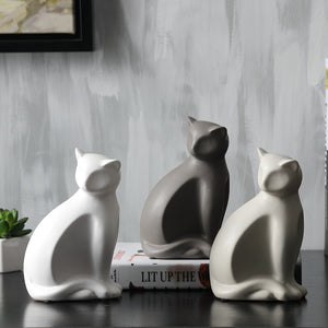 LUCKY CAT STATUE HOME DECOR
