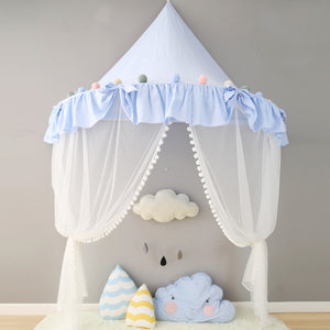 INFANT TODDLER BABY ROOM DECORATION IDEAS KIDS TEEPEE TENT CANOPY NURSERY ROOM DECORATION KIDSROOM TENT