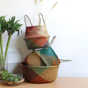 SEAGRASS DECORATIVE BASKET