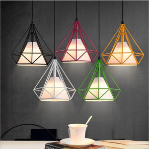 DIAMOND  PENDANT LIGHTING