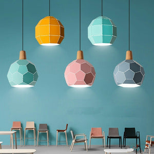SIMPLE CREATIVE BAR COUNTER PENDANT LAMPS