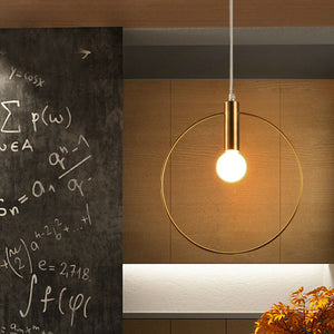 MODERN SINGLE RING PENDANT LIGHTING