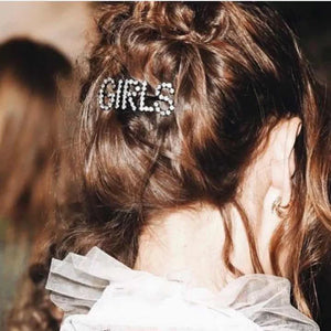 TRENDY LETTER HAIR CLIPS PINS
