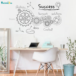 CREATIVE TEAMWORK WALLSTICKER