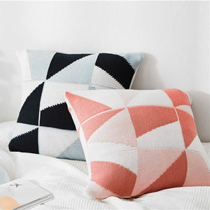 KNITTED CUSHION COVER PILLOW CASE 45cm*45cm