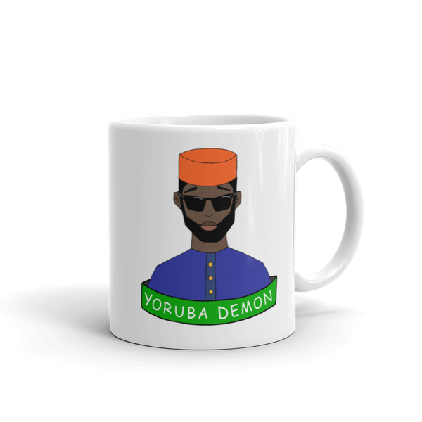 Yoruba Demon Mug (2 sizes)