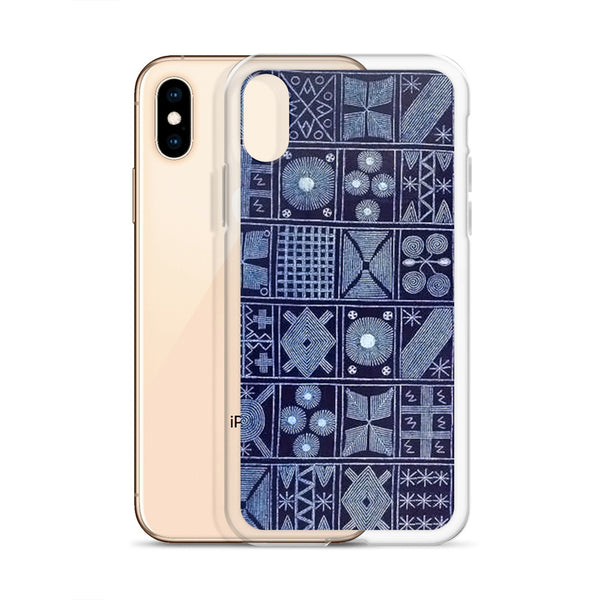 Yoruba Indigo Batik iPhone Case