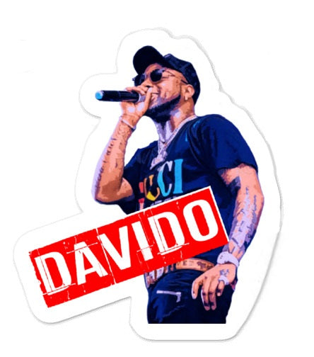Davido - Afrobeats Collection - Bubble-free stickers
