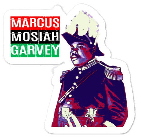 Marcus Mosiah Garvey - Bubble-free stickers