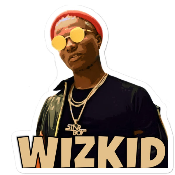 Wizkid - Afrobeats Collection - Bubble-free stickers