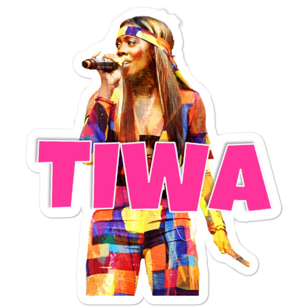 Tiwa Savage - Afrobeats Collection - Bubble-free stickers