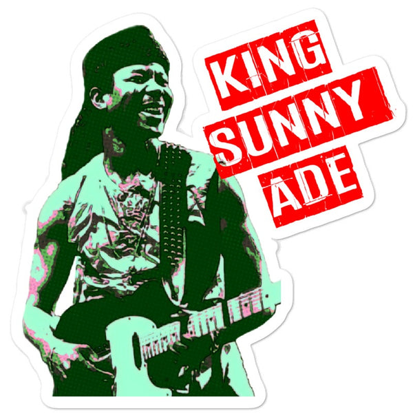 King Sunny Ade - Juju / Afrobeat Collection - Bubble-free stickers
