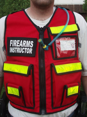 Range Officer Safety Vests - Firearms Instrcutor