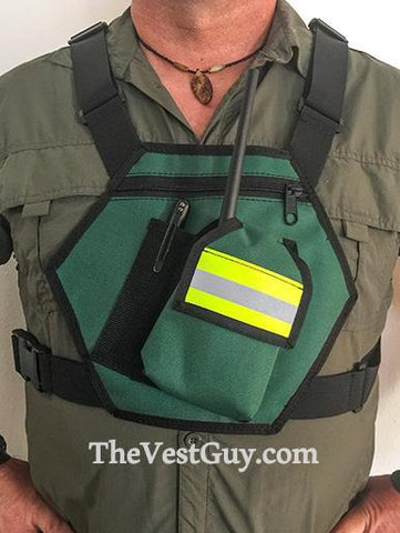 CERT reflective radio chestpack by The Vest Guy