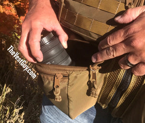 MOLLE cargo pocket, cargo MOLLE pouch, custom MOLLE pocket