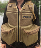 M&M Treker Photography Vest, Custom mesh photo vest