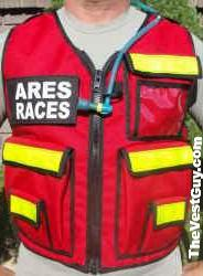 ARES RACES Safety Reflective Vest