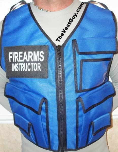 Firearms Instructor Vest