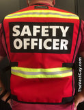 Safety Officer Reflective Vest by The Vest Guy