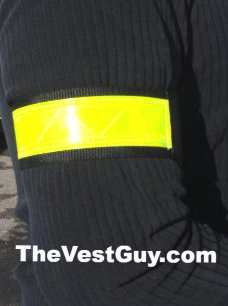 1.5 inch reflective armband or pant clip