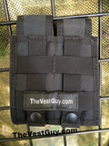 Double Five Seven Mag MOLLE pouch in black