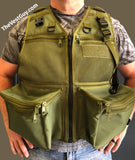 Custom mesh photo vest by The Vest Guy, M&M Treker Photography Vest