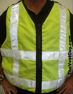 ANSI Class 2 High Visibility Adjustable Vest
