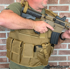 AR Defender Vest, Body Armor Carrier Vest, Plate Carrier Vest, Tactical Vests by The Vest Guy
