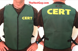 Green CERT Vest with adjustable sides