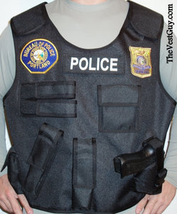 Custom body armor carrier - Insert Vest Cover