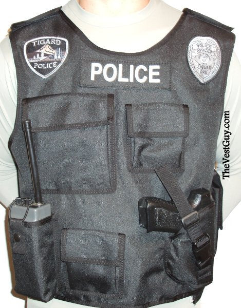 Custom insert carrier vest by The Vest Guy.com