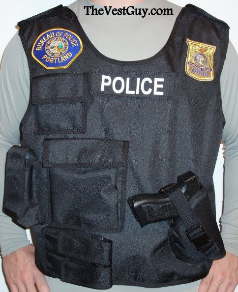 Body Armor Carrier Vest 6