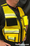 Incident Command Safety Officer Reflective Vest