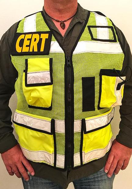 CERT ANSI II Safety Reflective Vest by The Vest Guy