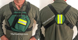 CERT Reflective Chest Pack - Chest Pouches radio pockets reflective