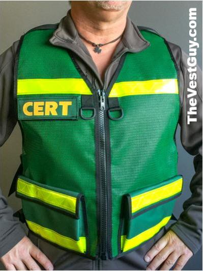 CERT Vest with Pockets 001