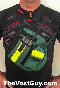 Chest Pack with reflective and radio pockets